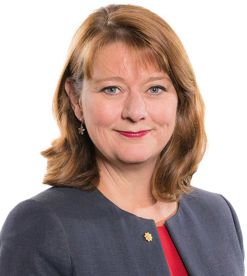 Leanne Wood, 2016  © National Assembly for Wales, https://bit.ly/2tBES7V (CC BY 2.0)