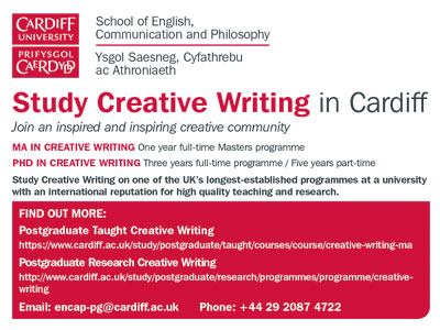 ma in creative writing online uk Course information for prospective postgraduate students on our ma creative writing taught masters  uk /eu: £9,000 full  work as part of the online.
