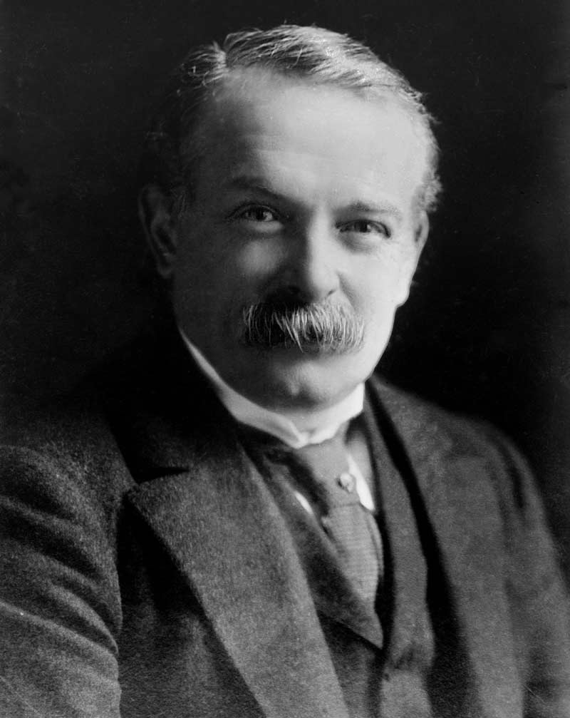 David Lloyd George, former Prime Minister. Image from the George Grantham Bain Collection at the Library of Congress. Published in the public domain.